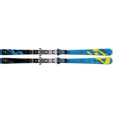 Горные лыжи Salomon 2V Race Powerline + SZ14 SPEED