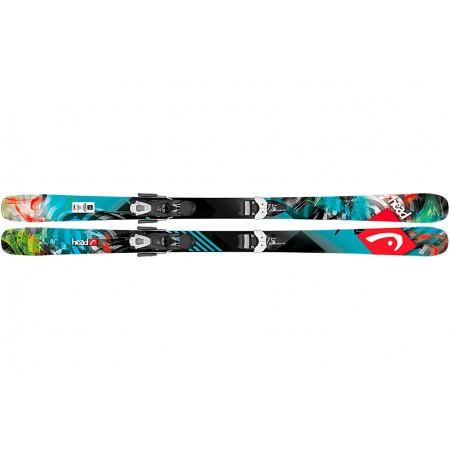 Детские горные лыжи HEAD Residue R Track mc