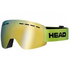 Горнолыжная маска   HEAD Solar FMR lime