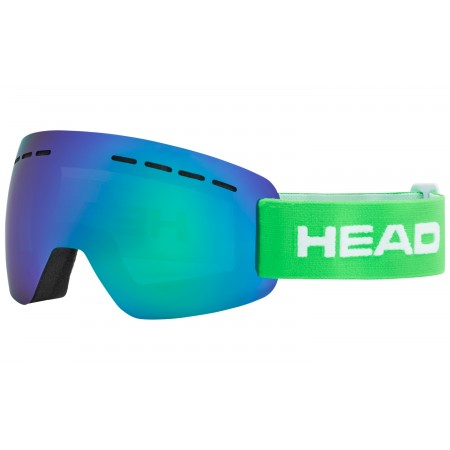 Горнолыжная маска   HEAD Solar FMR Green